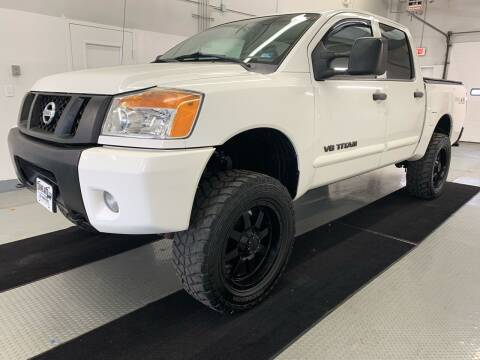 2012 Nissan Titan for sale at TOWNE AUTO BROKERS in Virginia Beach VA
