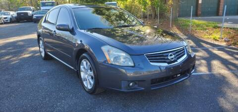 2007 Nissan Maxima for sale at Moor's Automotive in Hackettstown NJ