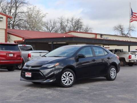 2019 Toyota Corolla for sale at Bryans Car Corner in Chickasha OK