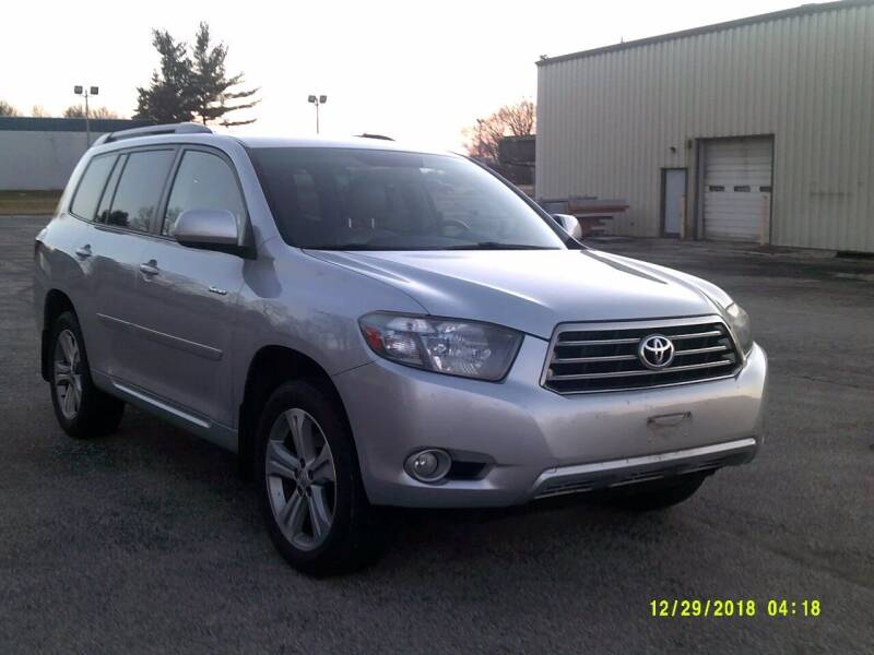 2008 Toyota Highlander for sale at Brown's Truck Accessories Inc in Forsyth IL