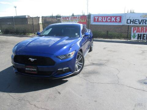 2015 Ford Mustang for sale at Quick Auto Sales in Modesto CA