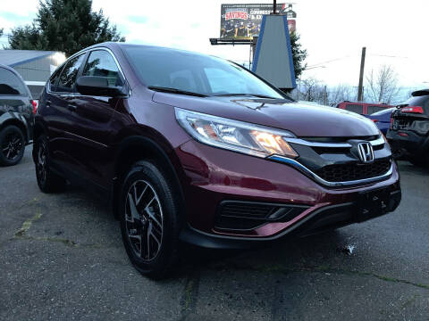 2016 Honda CR-V for sale at Autos Cost Less LLC in Lakewood WA