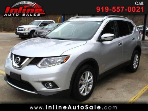 2016 Nissan Rogue for sale at Inline Auto Sales in Fuquay Varina NC
