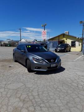 2016 Nissan Altima for sale at Autosales Kingdom in Lancaster CA