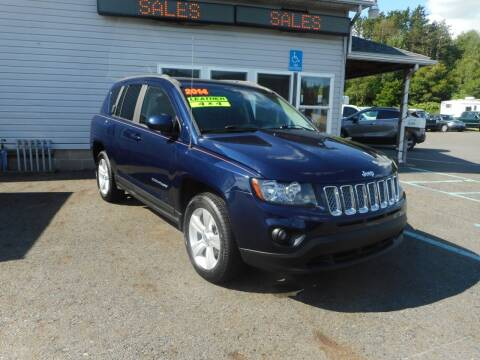 2014 Jeep Compass for sale at Automotive Toy Store LLC in Mount Carmel PA