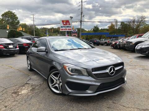 2014 Mercedes-Benz CLA for sale at KB Auto Mall LLC in Akron OH