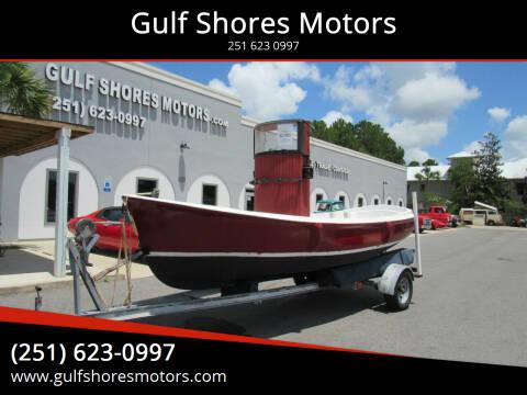 1974 Parker Bayou Tug Boat