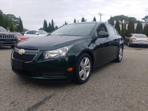 2014 Chevrolet Cruze for sale at East Providence Auto Sales in East Providence RI