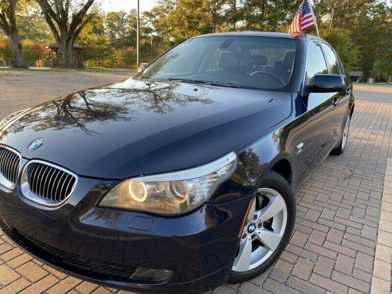 2009 BMW 5 Series for sale at JES Auto Sales LLC in Fairburn GA