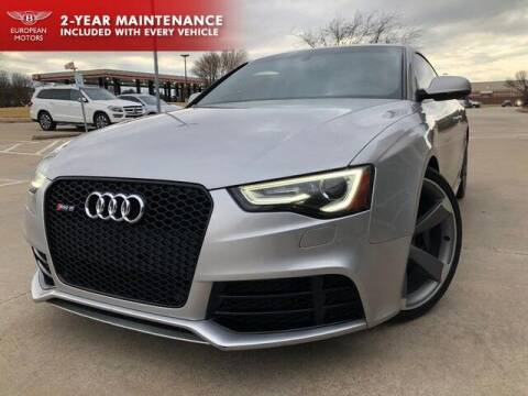 2013 Audi RS 5 for sale at European Motors Inc in Plano TX