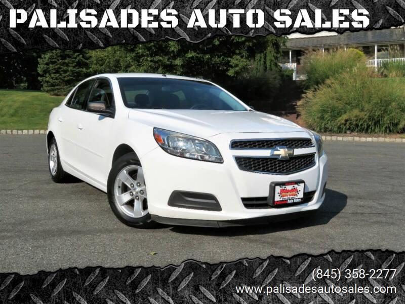 2013 Chevrolet Malibu for sale at PALISADES AUTO SALES in Nyack NY