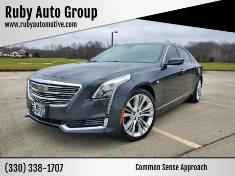 2016 Cadillac CT6 for sale at Ruby Auto Group in Hudson OH