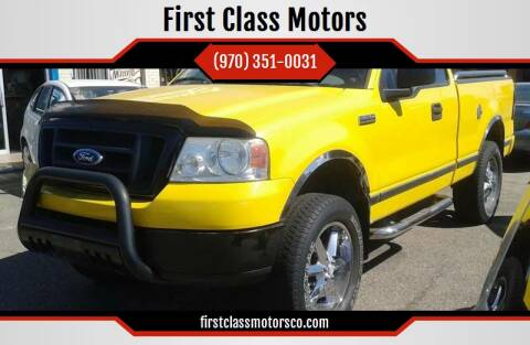 2004 Ford F-150 for sale at First Class Motors in Greeley CO