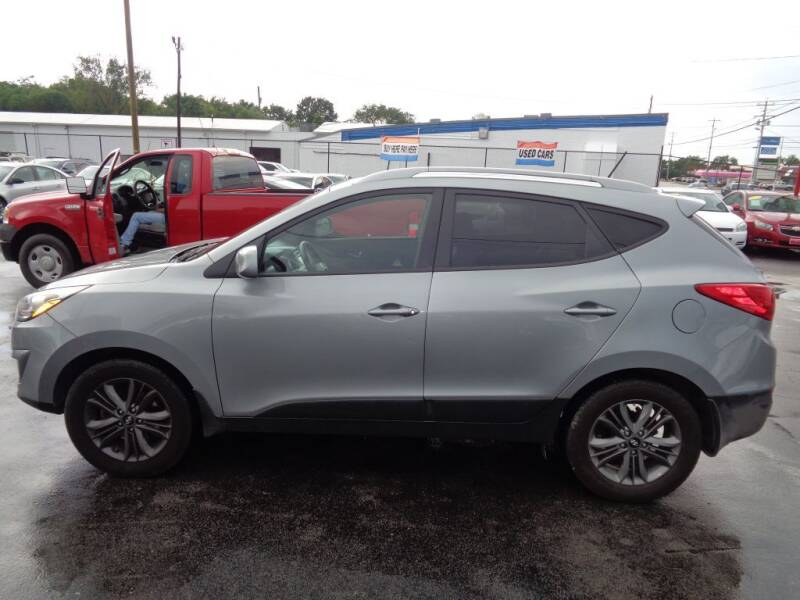 2014 Hyundai Tucson for sale at Cars Unlimited Inc in Lebanon TN