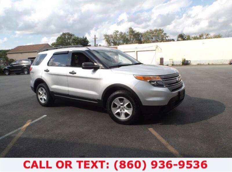 2012 Ford Explorer for sale at Lee Motor Sales Inc. in Hartford CT