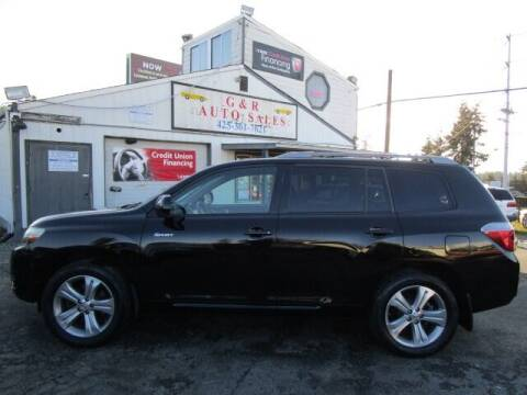 2008 Toyota Highlander for sale at G&R Auto Sales in Lynnwood WA