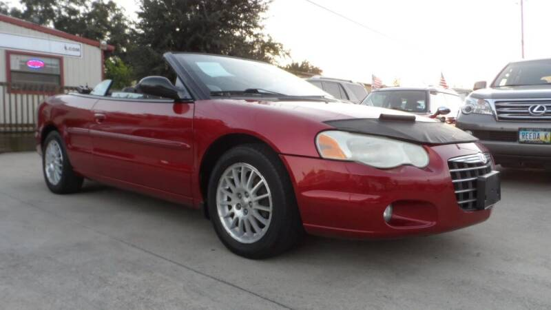 2005 Chrysler Sebring for sale at Exhibit Sport Motors in Houston TX