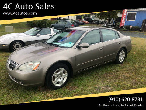 2003 Nissan Altima for sale at 4C Auto Sales in Wilmington NC