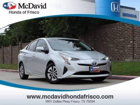 2016 Toyota Prius for sale at DAVID McDAVID HONDA OF IRVING in Irving TX
