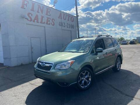 2015 Subaru Forester for sale at Fine Auto Sales in Cudahy WI