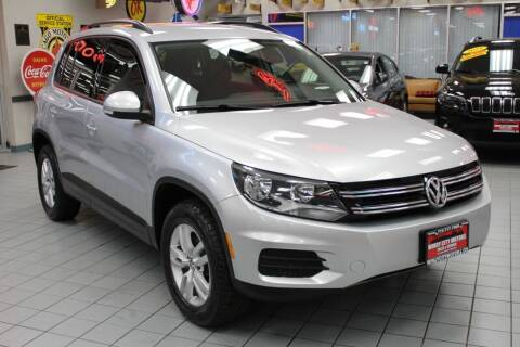 2016 Volkswagen Tiguan for sale at Windy City Motors in Chicago IL