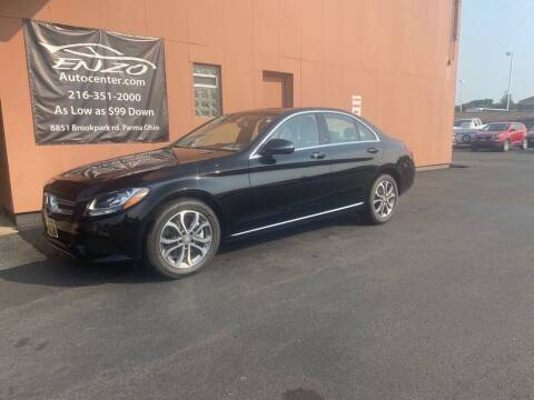 2016 Mercedes-Benz C-Class for sale at ENZO AUTO in Parma OH