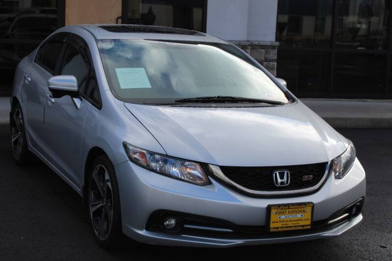 2015 Honda Civic for sale at First National Autos in Lakewood WA