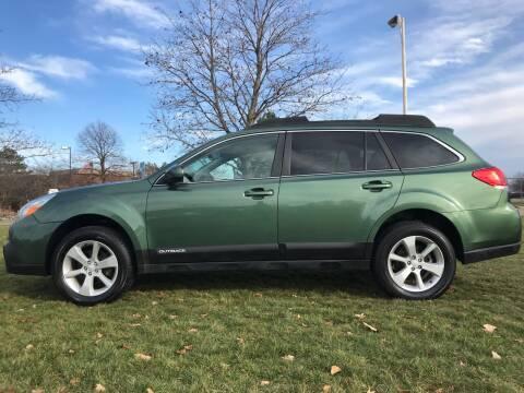 2013 Subaru Outback for sale at Motors Inc in Mason MI