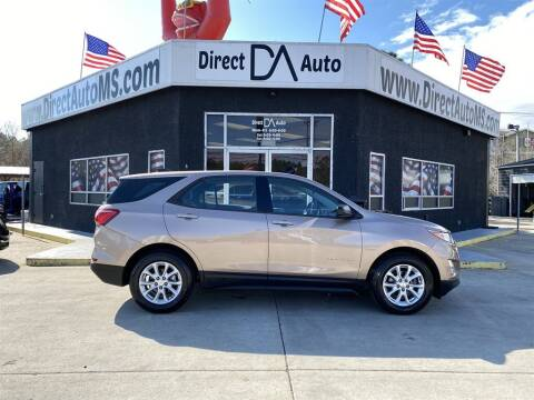 2018 Chevrolet Equinox for sale at Direct Auto in D'Iberville MS