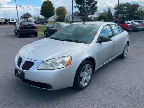 2009 Pontiac G6 for sale at Paul Hiltbrand Auto Sales LTD in Cicero NY