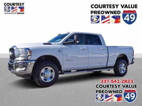2019 RAM Ram Pickup 2500 for sale at Courtesy Value Pre-Owned I-49 in Lafayette LA
