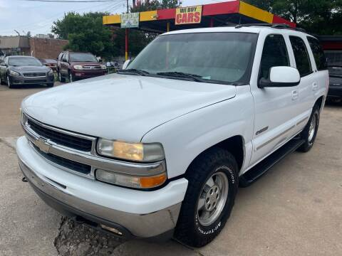 2002 Chevrolet Tahoe for sale at Cash Car Outlet in Mckinney TX