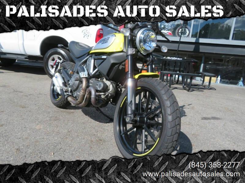 2016 Ducati scrambler for sale at PALISADES AUTO SALES in Nyack NY
