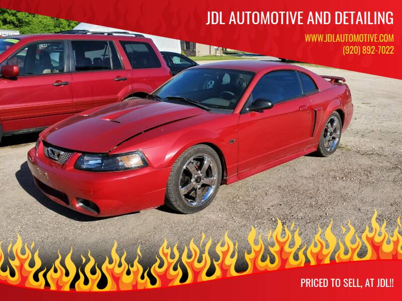 2001 Ford Mustang for sale at JDL Automotive and Detailing in Plymouth WI