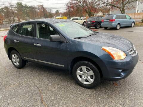 2012 Nissan Rogue for sale at Gia Auto Sales in East Wareham MA