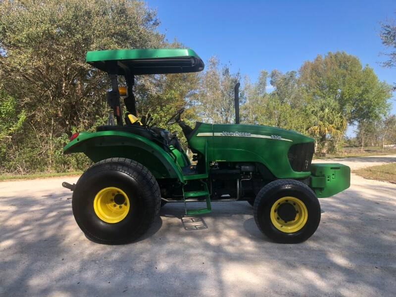 2007 John Deere 5325 for sale at S & N AUTO LOCATORS INC in Lake Placid FL