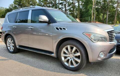 2011 Infiniti QX56 for sale at Rodgers Enterprises in North Charleston SC