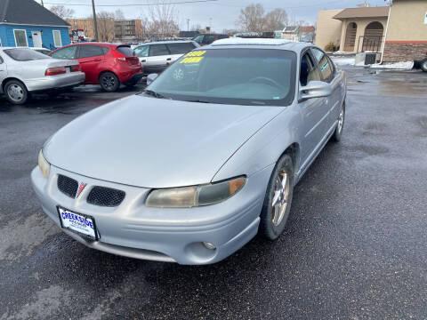 2000 Pontiac Grand Prix for sale at Creekside Auto Sales in Pocatello ID