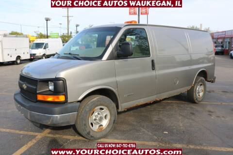 2003 Chevrolet Express Cargo for sale at Your Choice Autos - Waukegan in Waukegan IL
