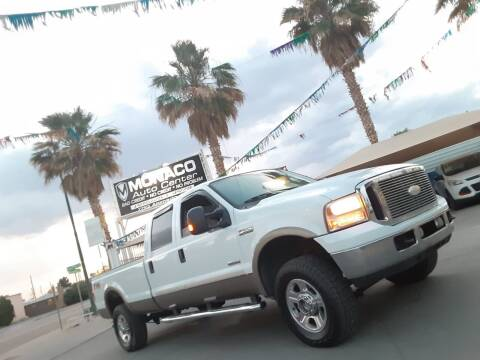 2005 Ford F-350 Super Duty for sale at Monaco Auto Center LLC in El Paso TX