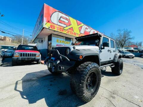 2008 Jeep Wrangler Unlimited for sale at EXPORT AUTO SALES, INC. in Nashville TN