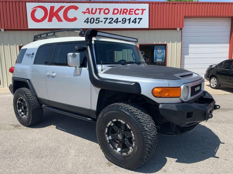 2007 Toyota FJ Cruiser for sale at OKC Auto Direct in Oklahoma City OK