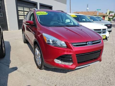 2014 Ford Escape for sale at CHURCHILL AUTO SALES in Fallon NV