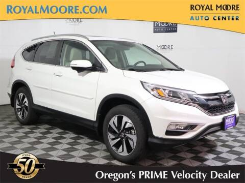 2016 Honda CR-V for sale at Royal Moore Custom Finance in Hillsboro OR
