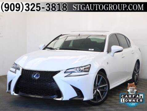 2018 Lexus GS 350 for sale at STG Auto Group in Montclair CA