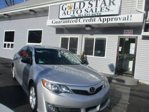 2013 Toyota Camry for sale at Gold Star Auto Sales in Johnston RI