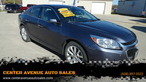 2015 Chevrolet Malibu for sale at CENTER AVENUE AUTO SALES in Brodhead WI