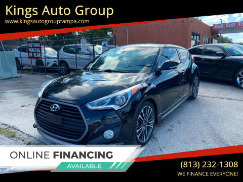 2016 Hyundai Veloster for sale at Kings Auto Group in Tampa FL