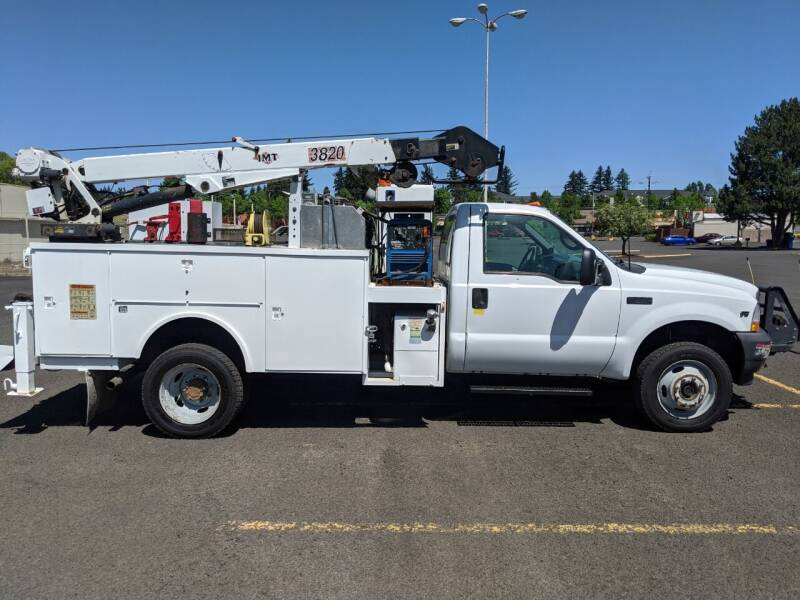 2002 Ford F-550 Super Duty for sale at Teddy Bear Auto Sales Inc in Portland OR