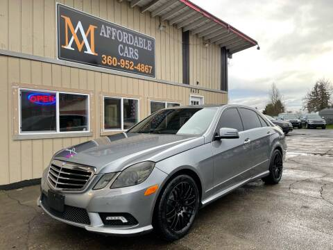 2010 Mercedes-Benz E-Class for sale at M & A Affordable Cars in Vancouver WA